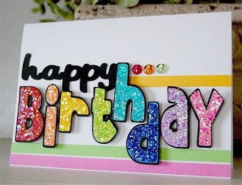 Handmade Bday Card Ideas - 35 beautiful handmade birthday card ideas