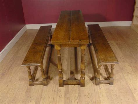 refectory bench spanish refectory table bench dining set farmhousespanish