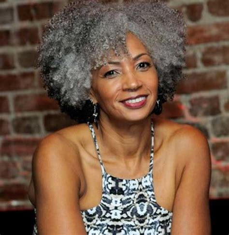 old women american women with black hair short natural haircuts for black women the best short