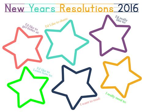 new year 2015 kindergarten printables new years resolution time capsule worksheets and