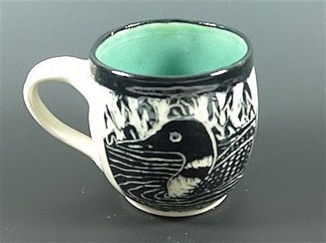 Mug Heaven Handcrafted Pottery - loon in the pickerelweed mug the o jays and mugs