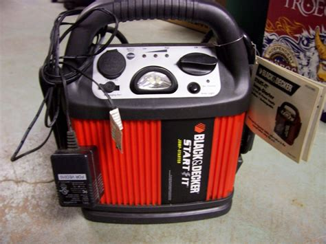 black and decker start it free new with tags black decker start it jump starter