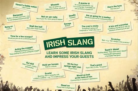 slang for house in 2014 the uniqueness of ireland part two irish slang and cuss