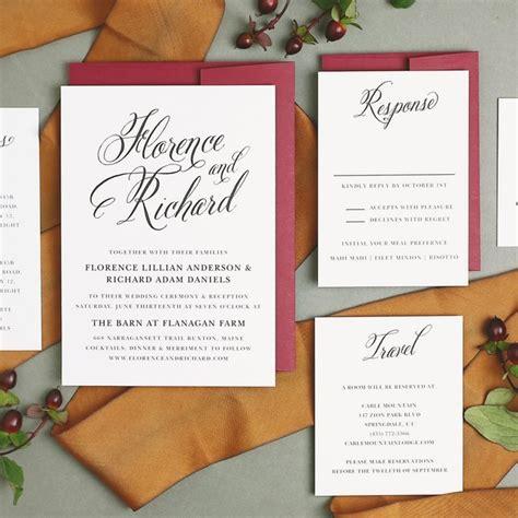 Basic Wedding Invitations by How To Create Wedding Invitations Deer Pearl Flowers