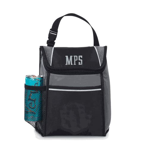 lunch tote insulated lunch tote bag embroidered monogram