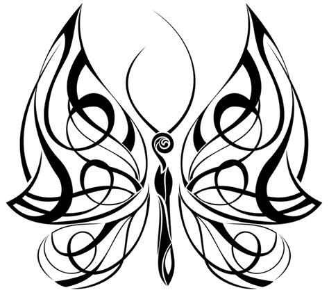celtic tribal tattoo meanings butterfly drawings tribal butterfly 4