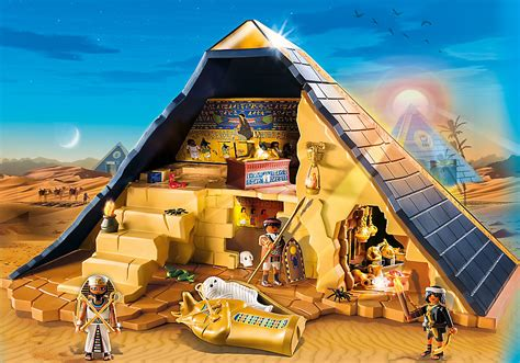 Piramida Set playmobil set 5386 pyramid klickypedia