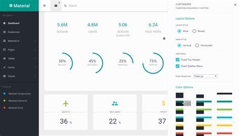 angularjs layout manager top 10 best premium angularjs material design admin