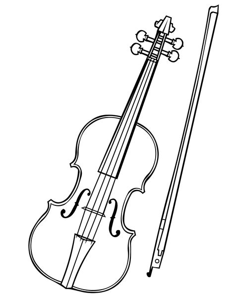 violin coloring pages violin coloring page handipoints