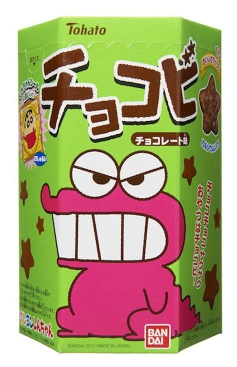 Noble Cola 88g chocobi crayon shinchan shaped chocolate snack 25g x