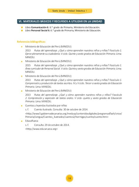 unidades 2016 sexto primaria unidad de poesia 6to grado unidad didactica primaria 2016