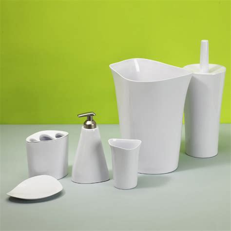 umbra bathroom accessories umbra orvino bath accessories set now at victorian