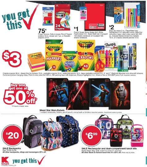 Kmart Back to School Ad 8 9 15   Weekly Ads