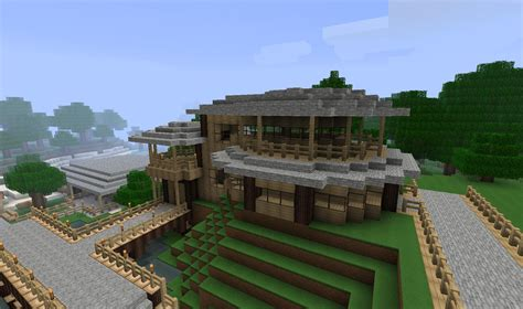 minecraft mountain house designs minecraft small village house design best house design