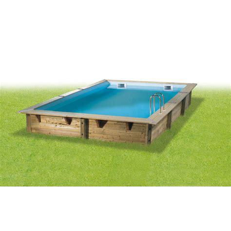 matratze 1 x 2 m piscine hors sol bois samoa 2 diam 4 3 l 4 3 x l 3 0 x h