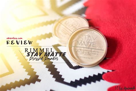 Bedak Rimmel Stay review rimmel stay matte pressed powder ola aswandi