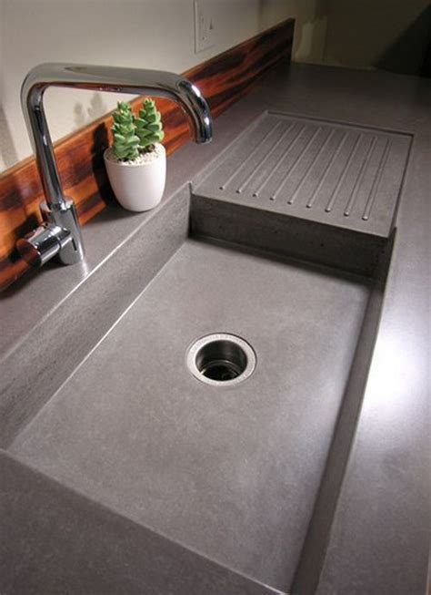 Unique Kitchen Countertop Ideas best 25 concrete kitchen ideas on pinterest worktop