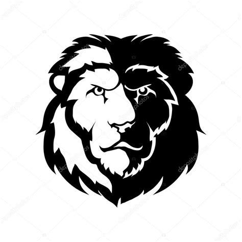 imagenes de leones a blanco y negro logo de le 243 n blanco y negro archivo im 225 genes vectoriales