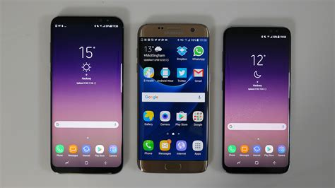 Samsung S7 Vs S8 the samsung galaxy s8 is here but how does it compare to the s7 edge gizmodo uk
