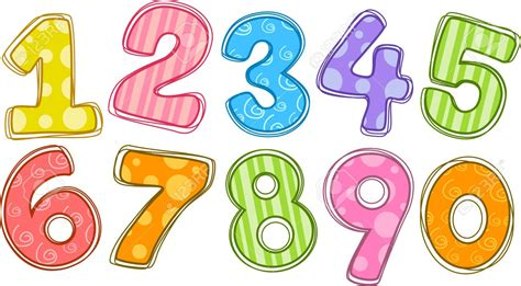 numbers clipart 20571109 illustration of stock illustration numbers