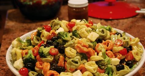 frugal feasts tortellini salad for a crowd