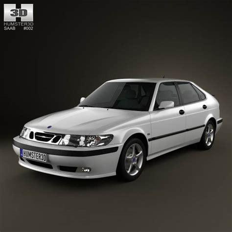how make cars 2002 saab 42133 interior lighting saab 9 3 hatchback 5 door 2001 3d model hum3d