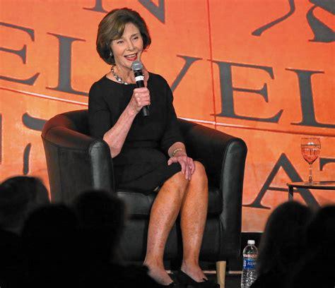 laura bush former first lady laura bush gives keynote at holocaust