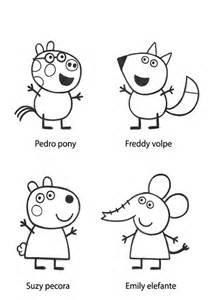 dibujos colorear peppa pig en el ordenador divertidas