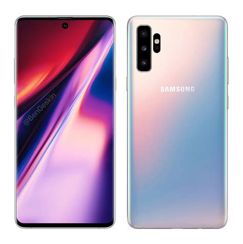 Samsung Galaxy Note 10 August 2019 by Samsung Galaxy Note 10 Design And Layout Revealed Soyacincau