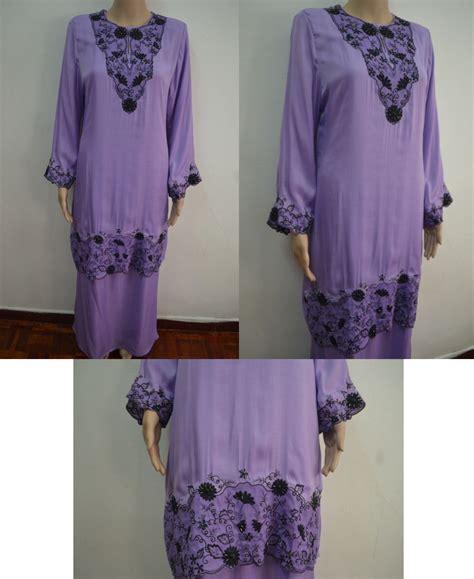 Baju Kurung Moden Purple Pink moden studio design gallery photo
