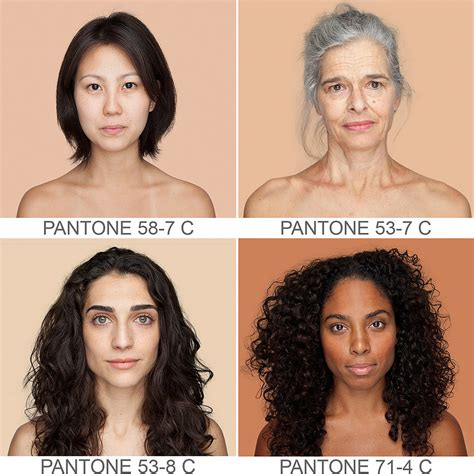 how to change your skin color beautiful with different pantone colour skin
