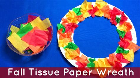 Craft Work With Tissue Paper - fall projects for preschoolers craft get ideas