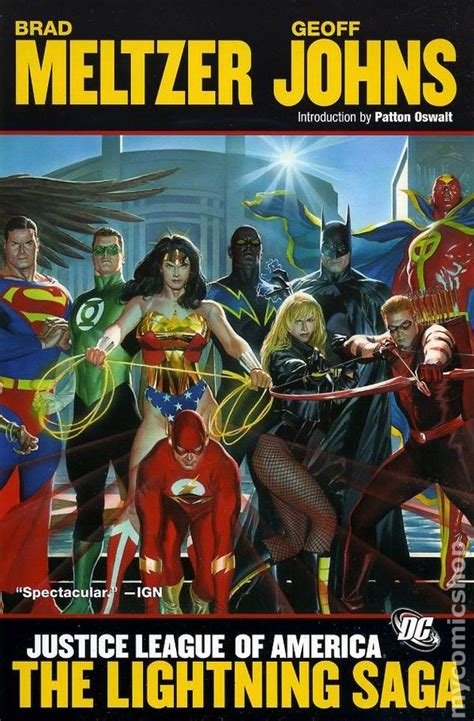 justice league the of the books justice league of america the lightning saga tpb 2008 dc