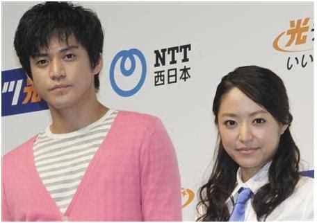 oguri shun mao inoue oguri shun and inoue mao discuss their new cm and