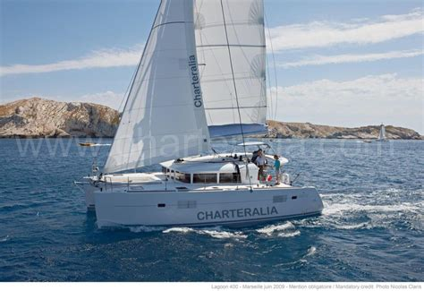 sunset catamaran cruise ibiza skippered lagoon 400 catamaran rental ibiza charteralia