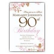 90th birthday invitations paperstyle