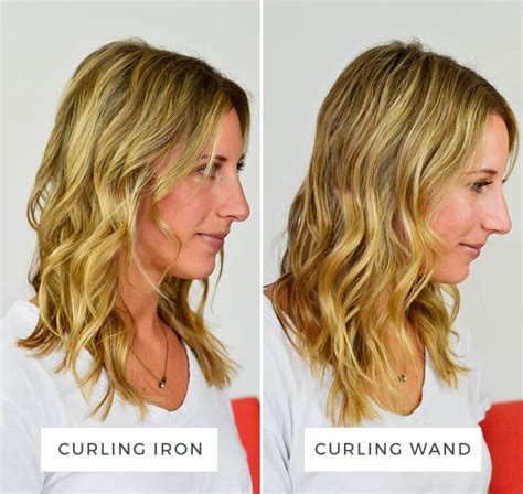 casual shaggy hairstyles done with curlingwands what s the difference curling iron vs curling wand aol
