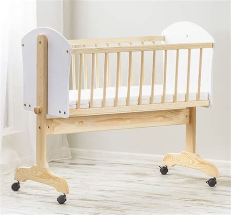 baby swinging cot baby wood swinging crib 90x40 cm rocking cradle newborn