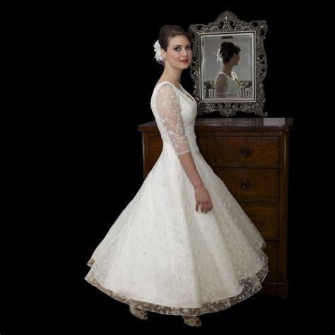 vintage tea length wedding dress vintage looking wedding dresses alluring gown