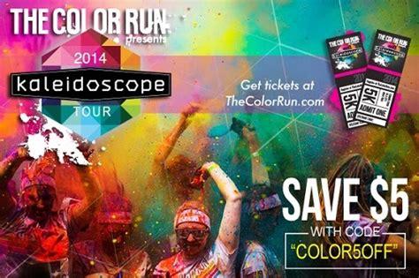 color run coupon code the color run 2014 kaleidoscope tour coupon code