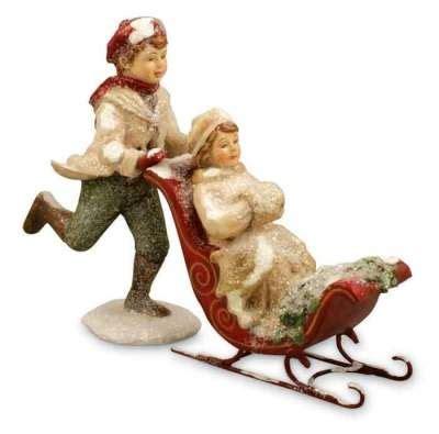 vintage christmas sleigh
