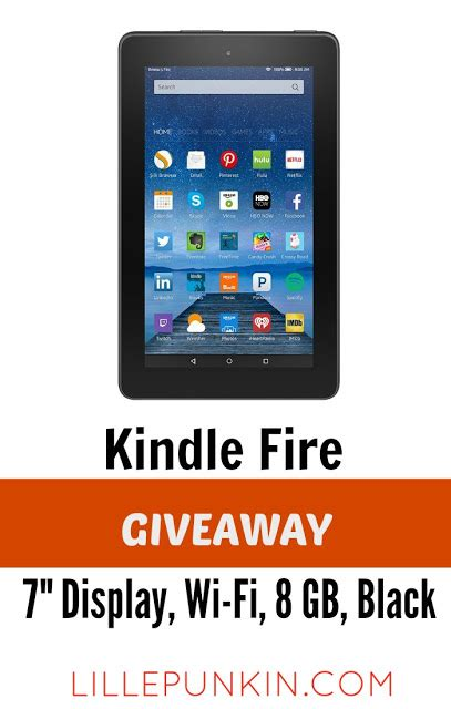 Kindle Fire Giveaway Facebook - lille punkin enter our new year s kindle fire giveaway