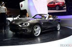 Fiat In America Fiat 124 Spider America Al Salone Di Parigi 2016 Live