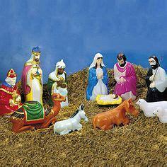 nativity set blowmolds