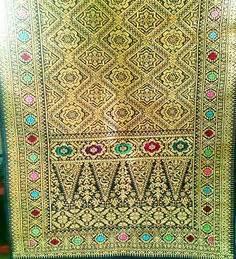 Songket Mesin Palembang Premium Lepus Rakam 4 batik kalimantan motif dayak dyk 003 batik kalimantan