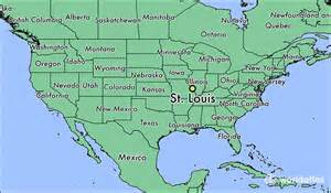 st louis on a map of the united states where is st louis mo where is st louis mo located