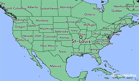 map usa st louis where is st louis mo where is st louis mo located