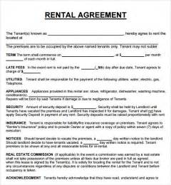 Equipment Lease Agreement Template South Africa by House Lease Agreement 7 Free Pdf Doc