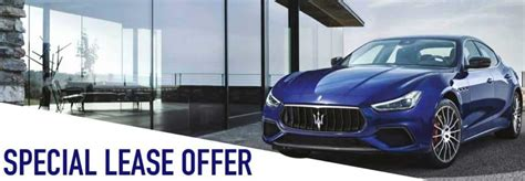 Maserati Lease Offers by Maserati Lease Offers Dealership In Vienna Va