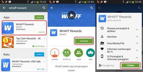 cara membuat akun paypal di whaff rewards mengumpulkan recehan dollar dengan aplikasi android